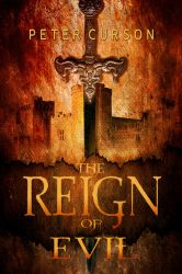 **SOLD** The Reign of Evil Book Cover by DLR-Designs