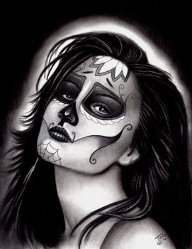 Day of the dead girl by TodoArtist