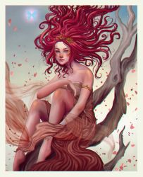The Queen of the Seelie Court  by agnes-green