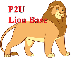 LionKing Adult Male Lion Base:200p by oCrystal