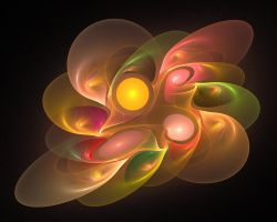 'Light Flame Abstract 157a' by SBricker