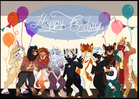 Happy Birthday ! by FrostedWatercolor