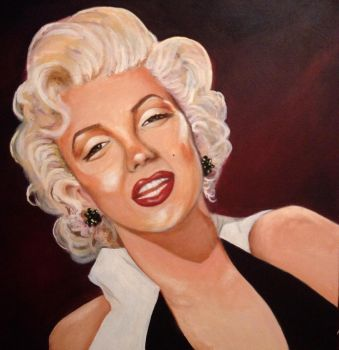 Marilyn by Kristen-Grunewald