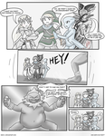 Who Gets Him First? :Mini-Comic: by Xero-J