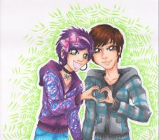 You and I by SpazztasticFanGirl
