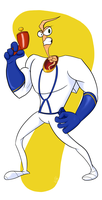 Earthworm Jim by GlossyToast
