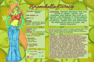 Limonchella Carotte ~ reference sheet by TheMarchef