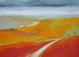 paesaggio toscano 2009 n12 by andreuccettiart