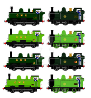 Duck and Oliver potential liveries by mrbill6ishere