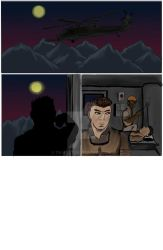 Old AE comic page by TR-West