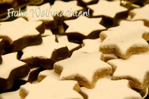 Christmas Card: Cinnamon Stars by Lilywen