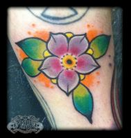 cherry blossom by state-of-art-tattoo