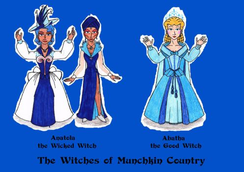 The Munchkin Witches of Oz (East) by SCDoctor