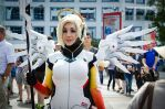 Overwatch Mercy Cosplay by sweetcivic