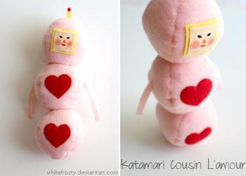 Katamari Cousin L'amour by whitefrosty