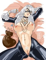 Black Cat - Nudies #12 by TheArtOfVero