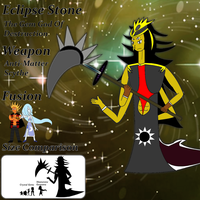 SU- Eclipse Stone, The 11th Gem God- OC by ToonEmpire24