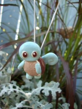 Squirtle Pokemon Necklace by GirtasticSpaz