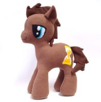 Doctor Whooves Plush MLP FiM by mintconspiracy