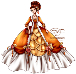 Court of Versailles - Belle by selinmarsou