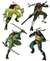 ninja turtles again by tanggod