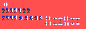 Sonic Custom Sprites: Dimensional Hole and Punch by pokeczarelf