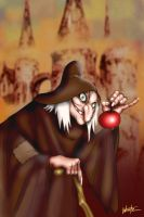 The Hag after Gustaf Tenggren by snowsowhite