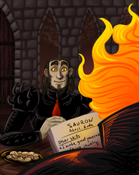 Job Interview with Melkor by Zlukaka