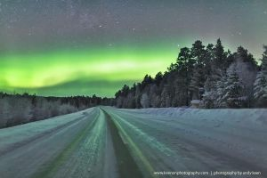 Northern Lights, Lapland 2 by andykeen