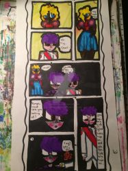 Sanders Sides comic! (Finished) by QueenLuna365