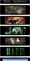 7 Misc. Photoshop Tutorials by Jamaal10