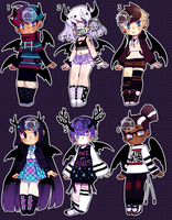 Set Price Horned Adopts (closed) by Kariosa-Adopts