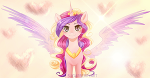 Princess Cadance by SugarberryArt