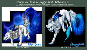 .:Draw this again meme:. by SilintWolf