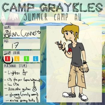 Camp Graybles App by CowDemonOfficial