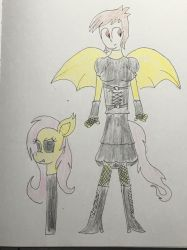 Flutterbat on the loose (anthro Flutterbat Suit rp by br4ndonm4rio