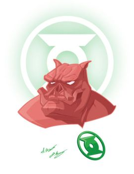 Kilowog Updated by seancor76