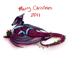Merry Christmas 2011 by JazzTheTiger