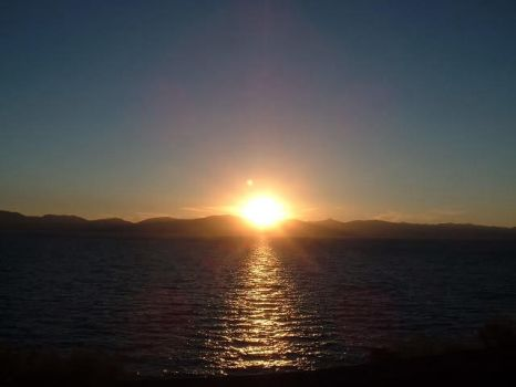 Sunset on Lake Tahoe by trinitycrystal