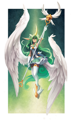 Star Guardian Soraka by RinTheYordle