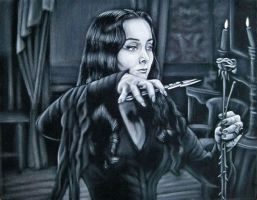 Morticia by BruceWhite