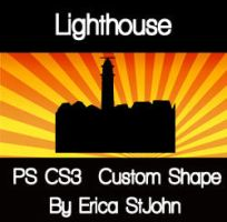 Lighthouse01 PS CS3 Shape by estjohn