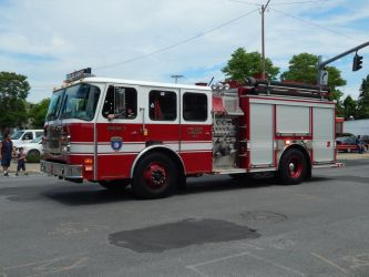 Kingston Fire Dept E-One Typhoon Engine 3 by Tracksidegorilla1