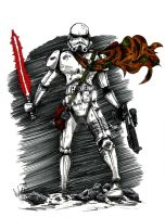 Stormtrooper by OuthouseCartoons