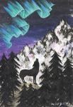 Northern Lights Wolf Brother by Elzo-is-the-name
