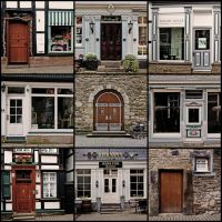 Doors Of Hattingen by EintoeRn