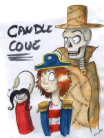 Candle cove by MarylandsDrawing25
