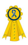 3rd Place CCA Show Ribbon 2016 by s1088