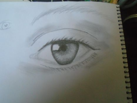 Real Life Eye by DevilFlame1