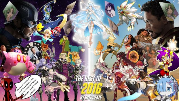 The Best of 2016 by Rylade475